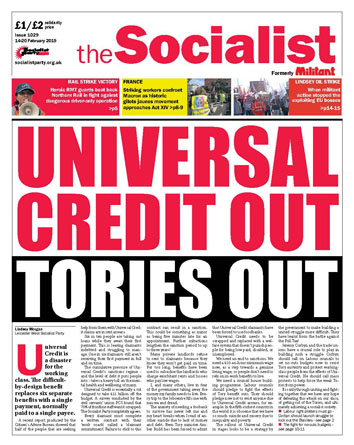 The Socialist issue 1029