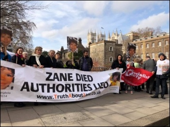 Taking the fight to Westminster on 13 February