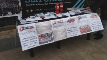 IWD stall in Hull