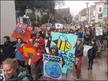 March 15 Climate protest in Cardiff