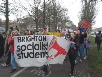 March 15 Climate protest in Brighton