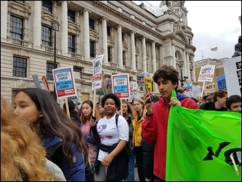 March 15 Climate protest in London