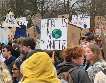 March 15 climate protest in Bristol
