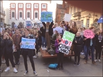 15 March climate protest in York