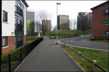 'Little London' in Leeds, photo by Leeds Socialist Party
