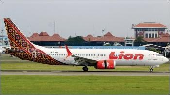A Lion Air aircraft, photo by Bathara Sakti/CC