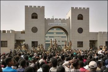 Mass protests against the regime continue in Sudan, photo Lana Hago/CC
