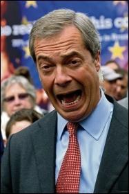 'Anti-establishment' establishment politician Nigel Farage, photo by Karl Lang/CC
