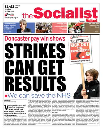 The Socialist issue 1041: Strike can get results
