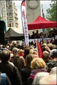 Nakba Day demo, London, 11.5.19