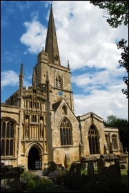 Burford Church, where the executions took place, photo by Dave S/CC