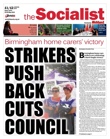 The Socialist issue 1043