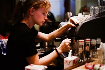 Low pay is endemic, especially among young workers, photo by Petteri Sulonen/CC