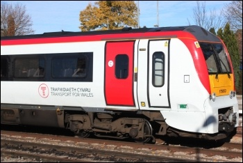 A Transport for Wales train, photo by Geof Sheppard/CC
