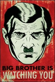 Nineteen Eighty-Four was 'an outpouring of human frustration and anxiety at the moment of passing from a world war into the Cold War,' image by Frederic Guimont/Free Art Licence