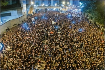 An estimated two million hit the streets of Hong Kong, photo by Studio Incendo/CC