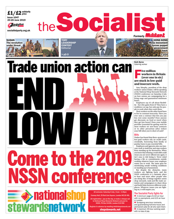 The Socialist issue 1047