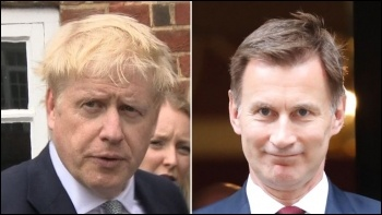 Both millionaires, Johnson and Hunt, have long track records of voting for and implementing massive cuts