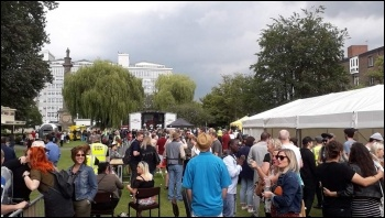 Hull 'Engage for Change' festival 2019, photo Lucy Nuttall