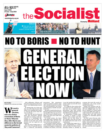 The Socialist issue 1048