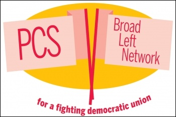 PCS Broad Left Network is a new grouping within the union's Left Unity group