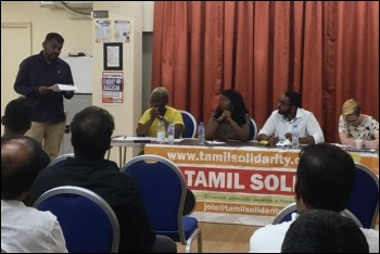 Tamil Solidarity's 2019 Solidarity Day, 29.9.19, photo by London Socialist Party
