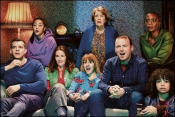 The Lyons family in Years and Years: excellent cast, poor commentary, photo by BBC