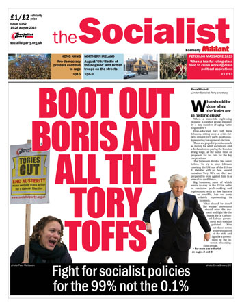 The Socialist issue 1052