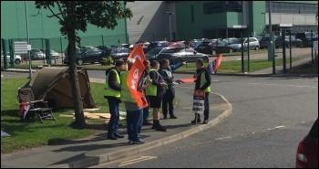 Merseyside Matalan strike August 2019, photo Neill Dunne