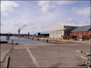 Port of Liverpool, photo John Bradley/CC