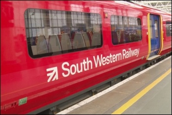 South Western workers are striking again against attacks on guards, photo (public domain)