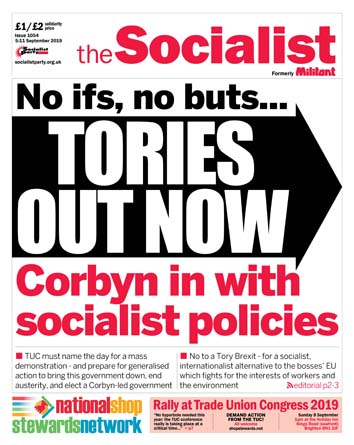 The Socialist issue 1054