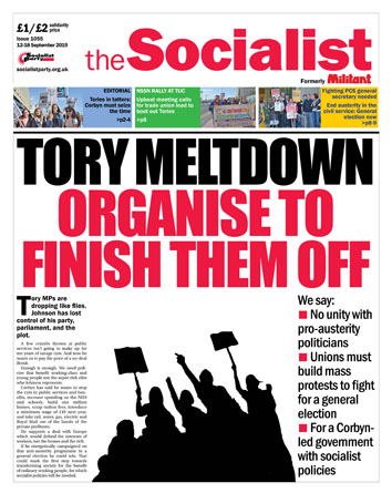 The Socialist issue 1055