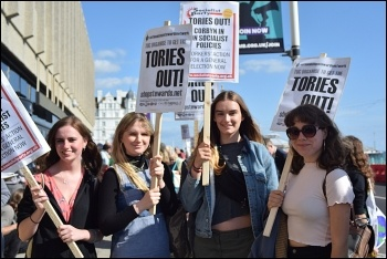 Tories out! photo Mary Finch