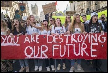 London climate strike 20 September 2019, photo Paul Mattsson