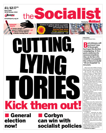 The Socialist issue 1059
