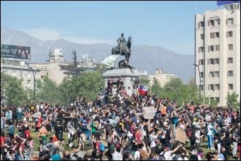 Chile protests 2019, photo Carlos Figueroa/CC, photo Carlos Figueroa/CC