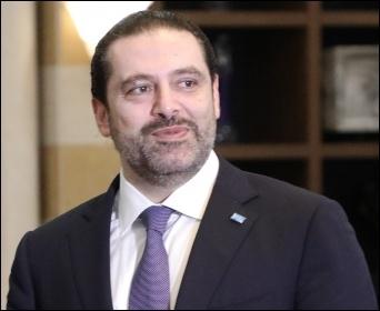 Lebanon prime minister Saad al-Hariri