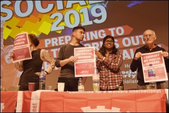 Socialism 2019 Saturday rally, photo Mary Finch