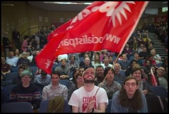 Socialism 2019, London 2-3 November, photo Paul Mattsson