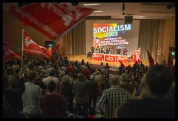 Socialism 2019, London 2-3 November, photo Paul Mattsson