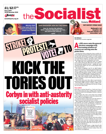 The Socialist issue 1064