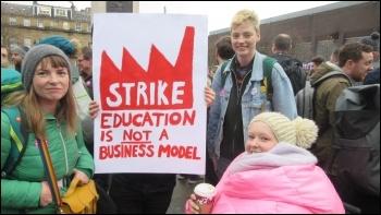 Newcastle university, 25.11.19, photo by Elaine Brunskill