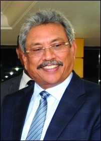 New president Gotabaya Rajapaksa is notorious for his bloody ending of the civil war in 2009, photo Jorge Cardoso/CC
