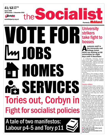 The Socialist issue 1066