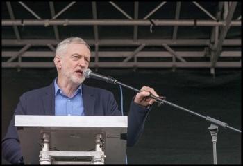 Jeremy Corbyn, photo Paul Mattsson