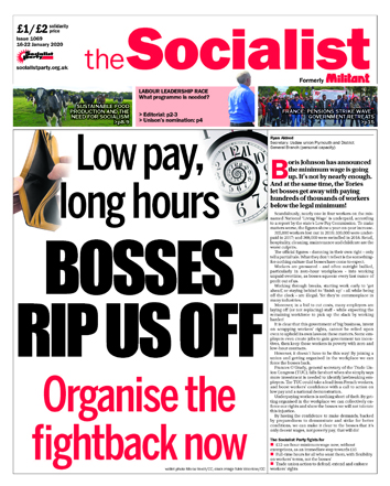 The Socialist issue 1069