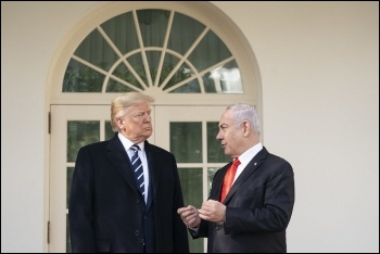 Trump and Netanyahu continue to strangle the prospect of a genuine Palestinian state, photo