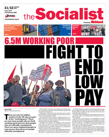 The Socialist issue 1072