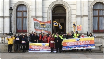 PCS Foreign Office strike